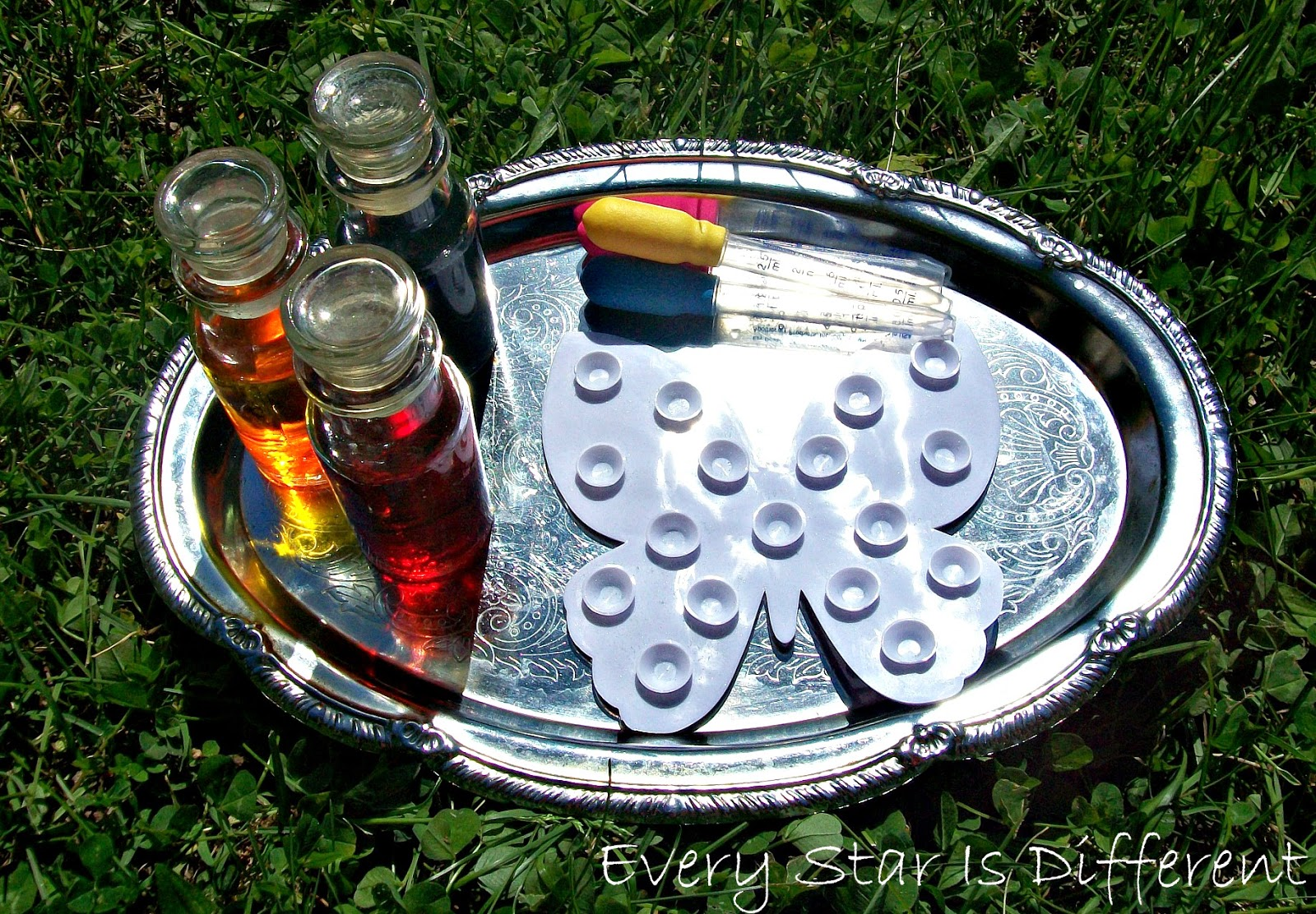 Montessori-inspired Butterfly Dropper Activity