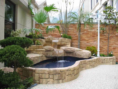 pilihan desain kolam ikan untuk rumah minimalis - jasa