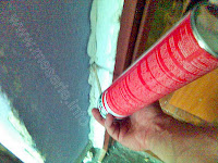 spuma poliuretanica folosire