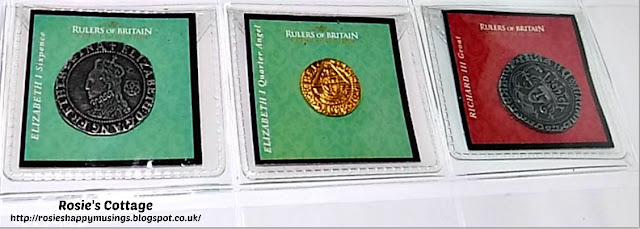Rulers of Britain Coins Reverse