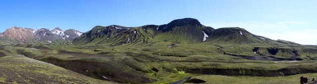 Tercer día del trekkin, de Alftavatn a Emstrur
