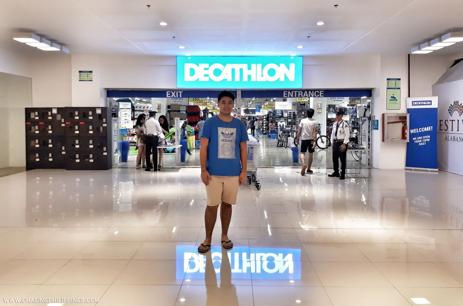 1d1b5c656 Decathlon Philippines is located at the Ground Floor of Festival Mall in  Filinvest