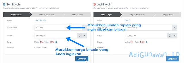 Cara Membeli Bitcoin di Indodax.com