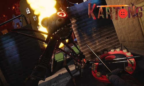 Kartong Death by Cardboard Game Free Download