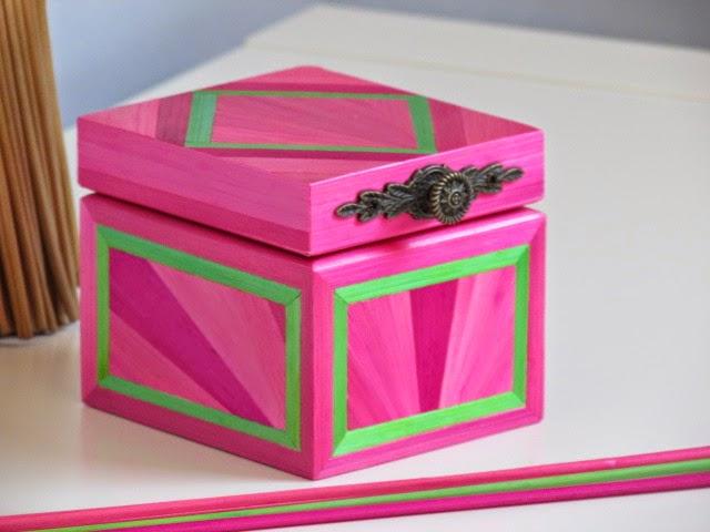 lapaillendeco petite bo te bijoux en marqueterie de paille. Black Bedroom Furniture Sets. Home Design Ideas