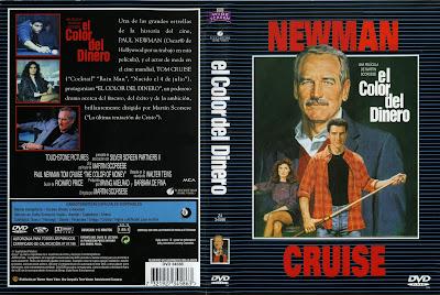 El color del dinero (1986) - Carátula