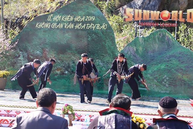 Experience the Khen festival Northwest at Sun World Fansipan Legend