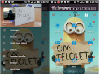 BBM Om Telolet Om Apk Mod Terbaru Gratis Tema Minion