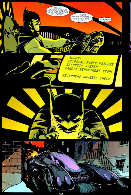 Cully Hamner & Dexter Vines Batmobile Batman - Tenses-#1
