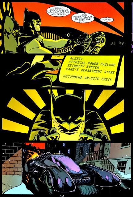 Cully Hamner & Dexter Vines Batmobile Batman - Tenses-#1