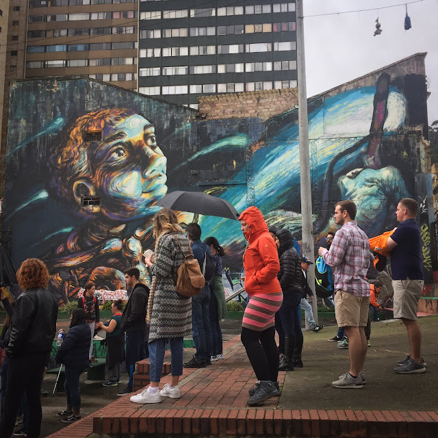 Graffiti Tour; Bogotá, Columbia