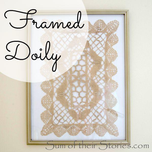 Framed Doily