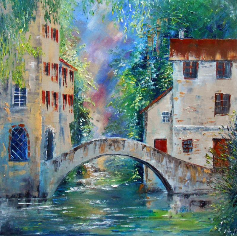 Le Pont des soupirs par Axelle Bosler