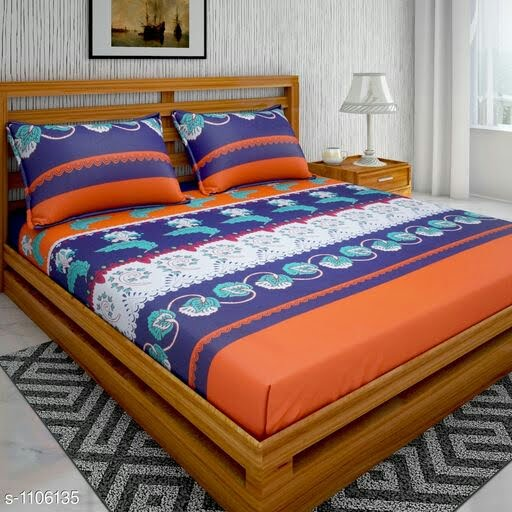 Comfortable Cotton Double Bedsheet