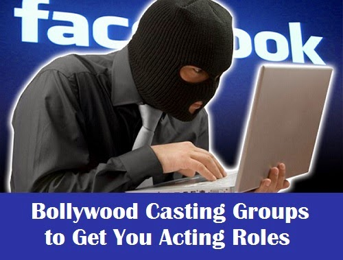 Facebook casting groups for actors and models