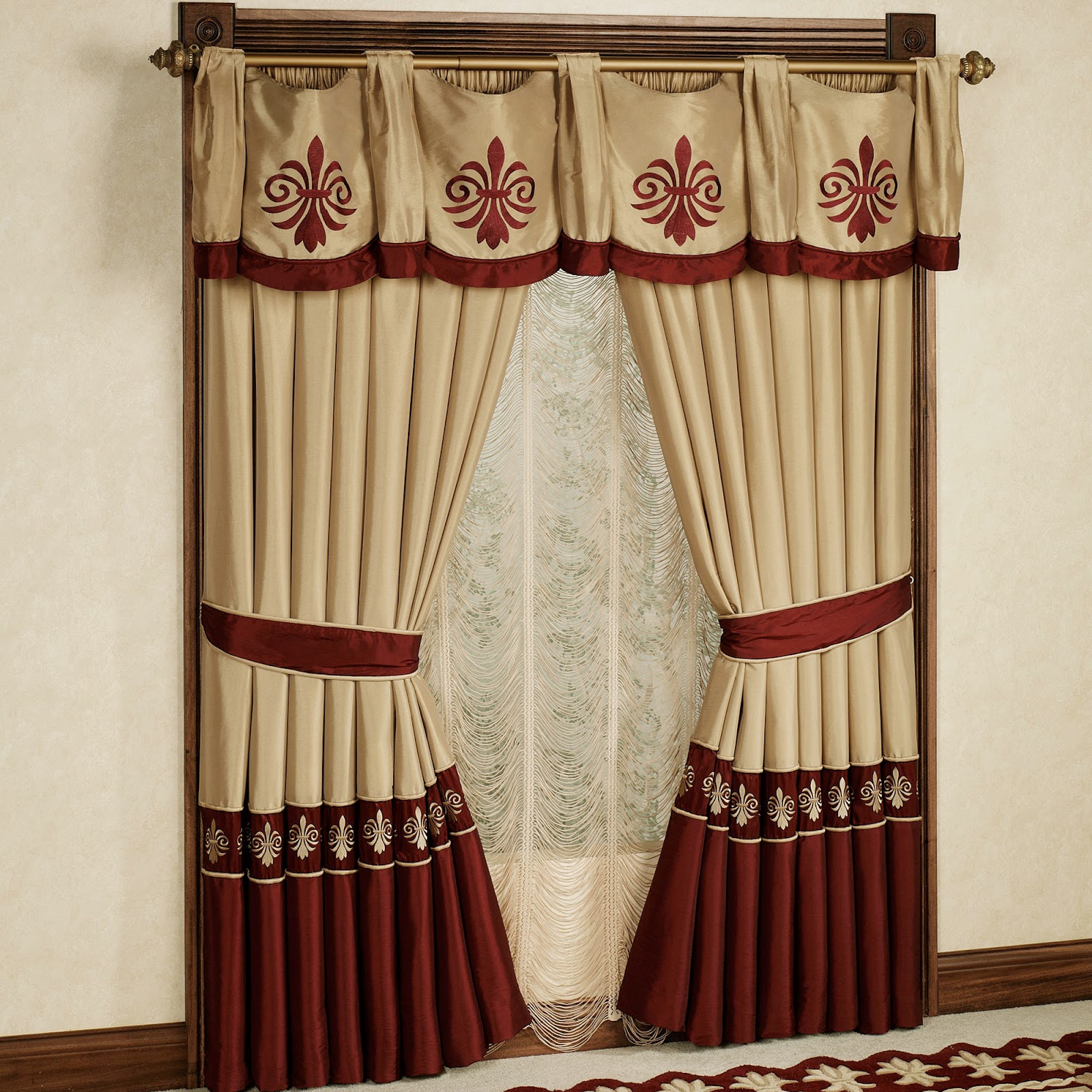 Diy Curtain Rings With Clips Rod Brackets Finials Holders