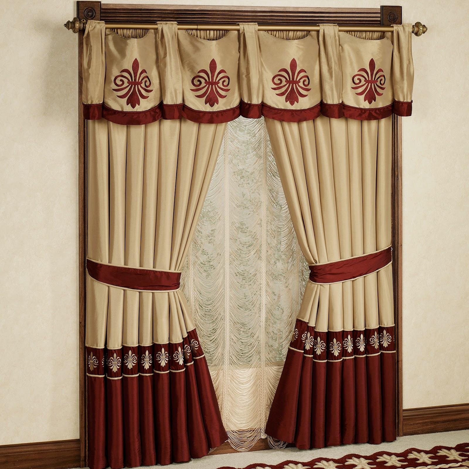 Modern Bathroom Window Curtains Bay Bedroom Curtain Ideas