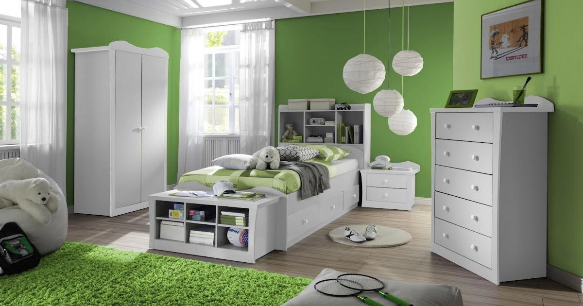 Dormitorio para ni os color verde dormitorios colores y - Colores para dormitorios infantiles ...