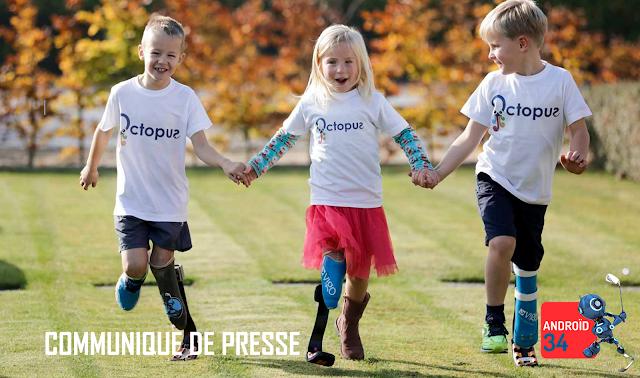 Android 34 Prothèse sportif enfants