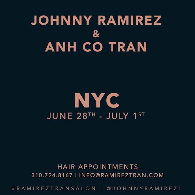 NYC, Ramirez Tran Salon, Lived in color, Lived in blonde, Johnny Ramirez, Ramirez Tran