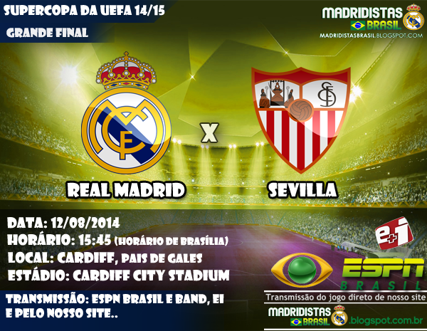 Real Madrid x Sevilla - Final Supercopa da UEFA 2014 15 ... e8262e3c4c3b9