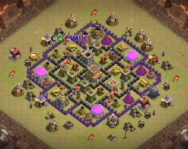 level 8 war base design