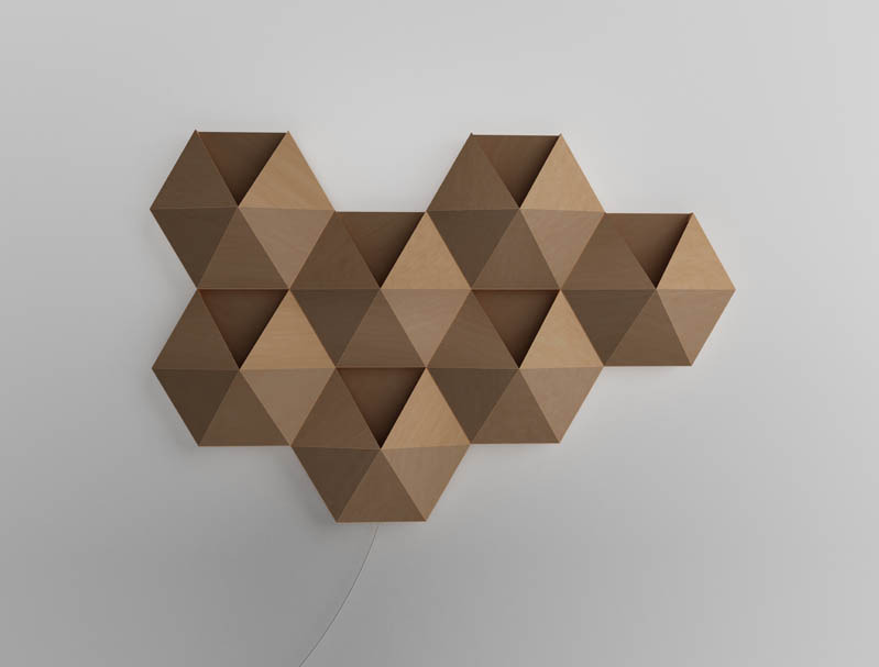 Geometric Wall Lights - Girl Room Design Ideas