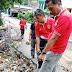 Longsor dan Banjir Luluhlantahkan Pipa Jaringan Air PDAM di Daerah Cibingbin