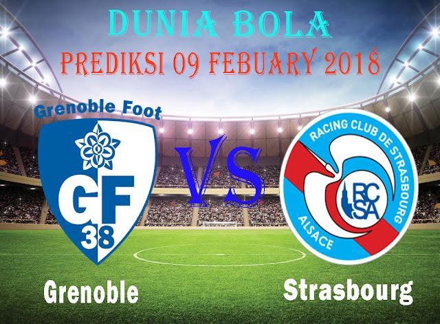 Prediksi Bola Grenoble Foot 38 vs Strasbourg 09 Febuary 2018