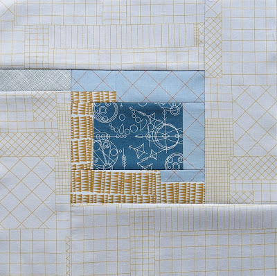 Modern sampler quilt - Block #10 - Inspired by Tula Pink City Sampler