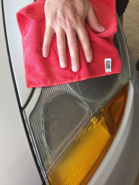 Restoring Old Headlights with WipeNew Headlight Restore
