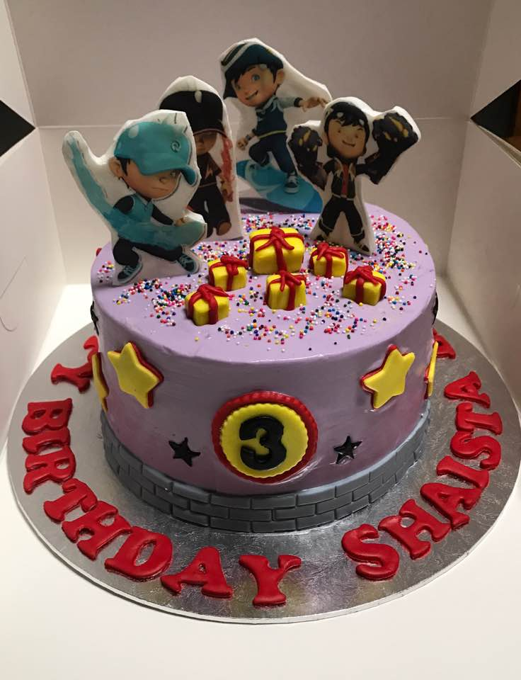 halal wedding cake singapore izah s kitchen boboiboy theme cake 2d halal boboiboy 15036