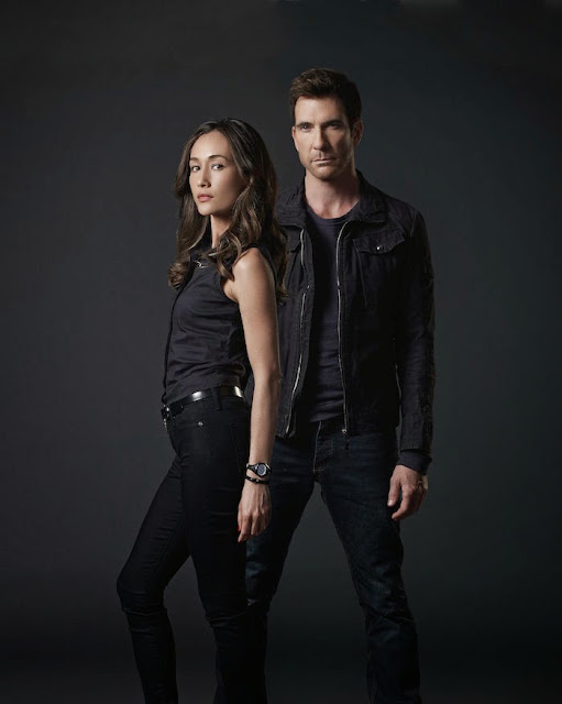 Stalker - Series 01.Gallery..Maggie Q as Detective Beth Davis and Dylan McDermott as Detective Jack Larsen...© Warner Bros. Entertainment, Inc.