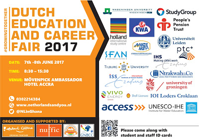 Dutch Embassy Organizes 2017 Dutch Education And Career Fair