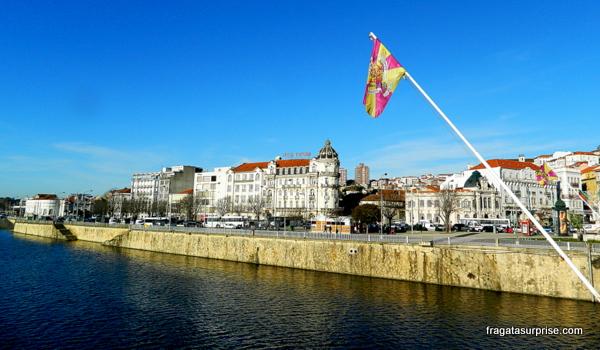O Rio Mondego em Coimbra