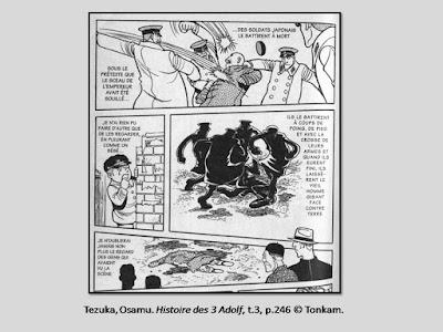 Tezuka, Osamu. Histoire des 3 Adolf, t.3, p246 © Tonkam.