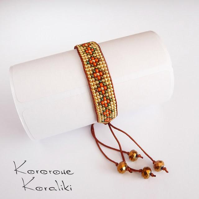 bransoletka krosno | bead loom bracelet