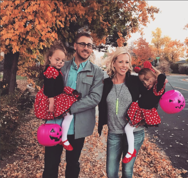 halloween with twins