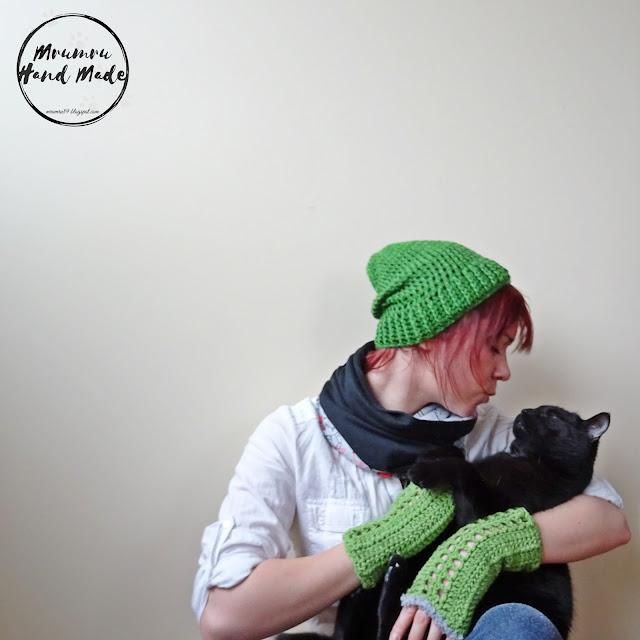 Zielony wiosenny komplecik :)