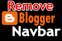 Four easy ways to Remove or Hide Blogger Navbar