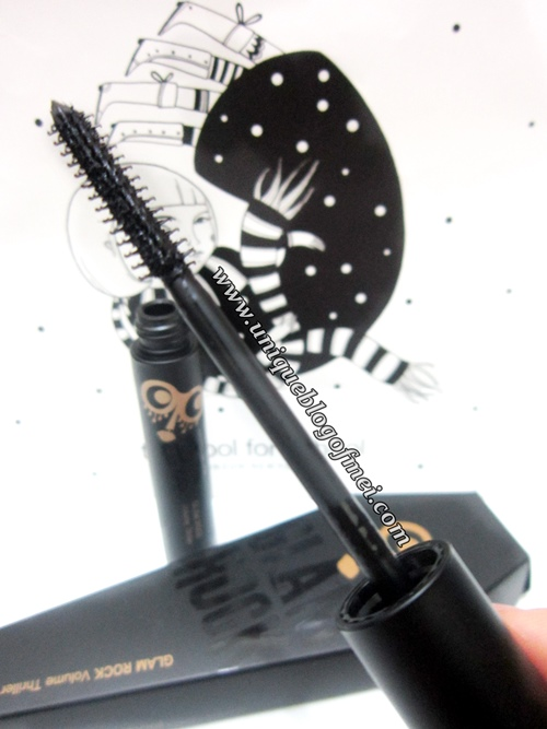 Too Cool For School glam rock thriller mascara