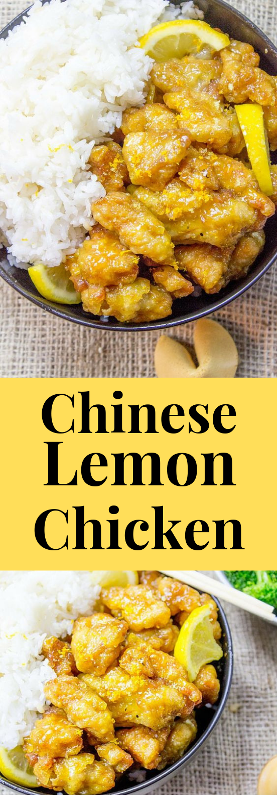 CHINESE LEMON CHICKEN RECIPE #Lemon #Chinese