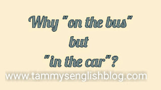 "Why do we say ""get on the bus"" but say ""get in the car""? Find out!"