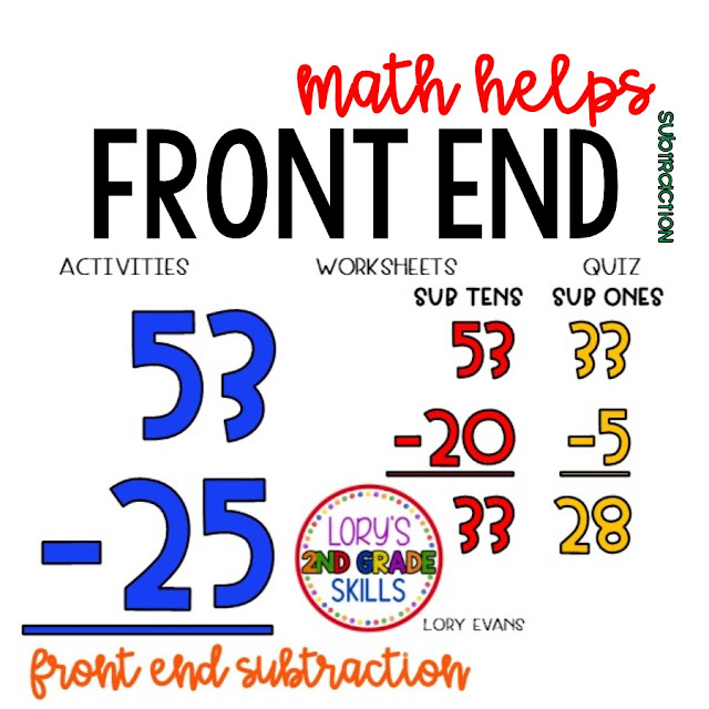 Front End Subtraction Activities