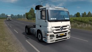 Mercedes Actros MP3 Stock Sound V2