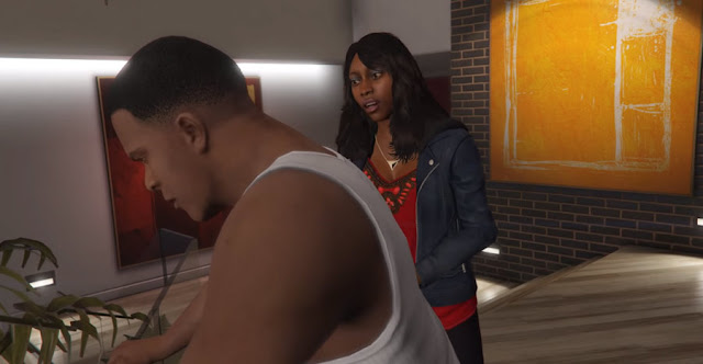 Black couples in Video games