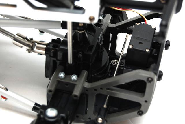 Tamiya TXT-1 steering servo