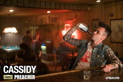 Preacher Teaser One Sheet Television Poster - Joseph Gilgun as Cassidy