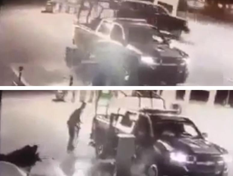 Video: Sicarios atacan también a policías estatales en Ciudad Juárez y afortunadamente...fallan