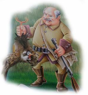 fabula el cazador y la perdiz